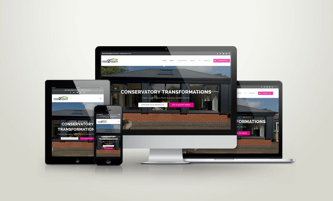 We are delighted to launch our new roof2room website for Website that allows you to design a room